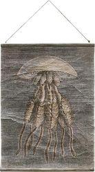 Wandplaat Kwal - Vintage - 60 x 83 cm - HK Living